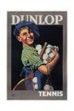Dunlop Tennis Giclee Print by Franz Hinklein