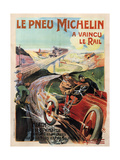 Michelin Tires Giclee Print by Ernest Montaut
