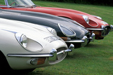 Jaguar E-Type Serie I, II und III Photographic Print by Uli Jooss