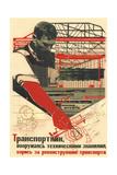 A Transport Worker Giclee Print by Nikolai Andreevich Dolgorukov