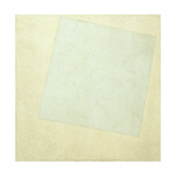 Suprematist Composition. White on White Giclee Print by Kasimir Severinovich Malevich