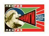 Advertising Poster Giclée-tryk af Alexander Mikhailovich Rodchenko