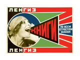 Advertising Poster Giclee Print by Alexander Mikhailovich Rodchenko