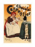 Chocolat Carpentier Giclee Print by Henry Gerbault