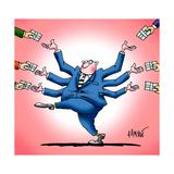 Corruption Lámina giclée por Alexander Dimitrov