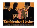 Weidenhof Casino Giclee Print by Ernst Lübbert