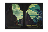 Stage Design for the Opera Tristan and Isolde Giclee Print by Nicholas Roerich