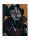 Fyodor Shalyapin as Boris Godunov in the Opera Boris Godunov Giclee Print by Alexander Yakovlevich Golovin
