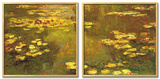 Pond of Waterlilies, 1919 Prints by Claude Monet