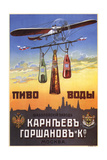 Advertising Poster for the Beer and Waters Giclee Print