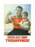 If You Will- Train! Giclee Print by Viktor Borisovich Koretsky