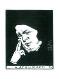 Robert Schumann (1810-1856) Giclee Print by Felix Edouard Vallotton