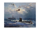 Operation Kama. Caribbean Crisis on October 1962 Giclee Print by Valentin Alexandrovich Pechatin