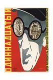 Movie Poster Eleventh (Year) Giclee Print by Vladimir Avgustovich Stenberg