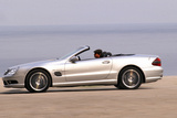 Mercedes SL 55 AMG Photographic Print by Hans Dieter Seufert