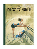 The New Yorker Cover - May 25, 2015 Regular Giclee Print by Carter Goodrich