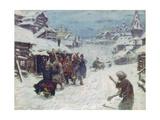 The Skomorokhs Giclee Print by Appolinari Mikhaylovich Vasnetsov