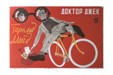 Movie Poster Dr. Jack Giclee Print by Georgi Avgustovich Stenberg