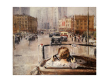 New Moscow Giclee Print by Yuri Ivanovich Pimenov