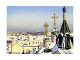 View from the Window of the Moscow School of Painting, Sculpture and Architecture Giclee Print by Sergei Ivanovich Svetoslavsky