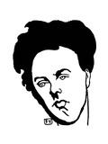 Arthur Rimbaud (1854–1891) Giclee Print by Felix Edouard Vallotton