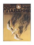 Movie Poster Solo Voyage: the Revenge Giclee Print by Alexei Vladimirovich Shtanko