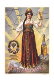 Advertising Poster for the Kalinkin Brewery Giclee Print