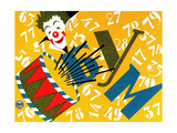 """Cover Design for Children's Game """"Bum"""" Giclee Print"""