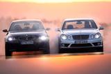 BMW M5 und Mercedes E 63 AMG Photographic Print by Hans Dieter Seufert