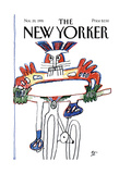 The New Yorker Cover - November 20, 1995 Premium Giclee Print by Saul Steinberg