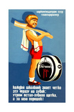 Advertising Poster for the Tooth Powder Hygiene Giclee Print