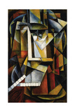 Abstract Cubist Composition Giclee Print by Ivan Vassilyevich Klyun