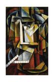 Abstract Cubist Composition Impressão giclée por Ivan Vassilyevich Klyun