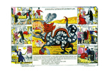 Devil of Card Games (Lubok) Giclee Print
