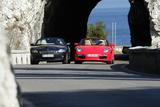 BMW Z4 3.0i und Porsche Boxster Cabrio Photographic Print by Hans Dieter Seufert