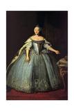 Portrait of Empress Elisabeth (1709-1762) Giclée-Druck von Ivan Yakovlevich Vishnyakov