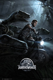 Jurassic World Raptors One Sheet Poster