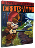 Carrots And Ammo Stretched Canvas Print
