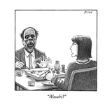 """Wasabi?"" - New Yorker Cartoon Premium Giclee Print by Harry Bliss"