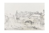 Engine Bridge, Exeter, C.1831 Giclee Print by Henry Courtney Selous