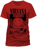 NIRVANA - ALL AGES T-shirts