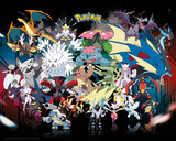 Pokemon Mega Poster