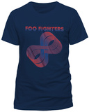FOO FIGHTERS - LOOPS LOGO T-Shirts