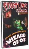 Startling Stories - Wicked Witch Stretched Canvas Print