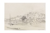 Exeter Custom House and Quay, 1831 Giclee Print by Henry Courtney Selous