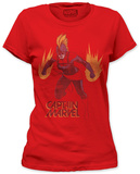 Captain Marvel - burst of energy Shirt