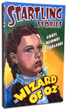 Startling Stories - Dorothy Stretched Canvas Print