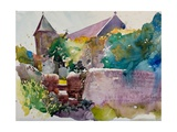 Wittering Church Giclee Print by Simon Fletcher