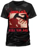 METALLICA - INGRAINED KILL EM ALL ALL-OVER T-Shirt