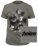 Age of Ultron - Avengers sketch T-Shirt